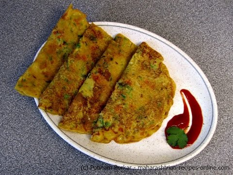 Gavhache dhirde (Spicy wheat flour pancake) – Quick and Easy Breakfast recipe