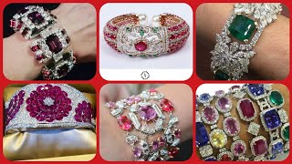 Beautiful Latest Collection Diamond Bracelet Collection Collection