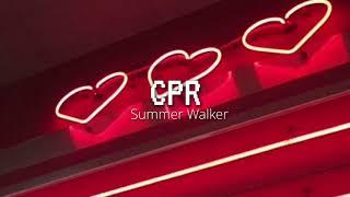 SUMMER WALKER | CPR Letra En Español