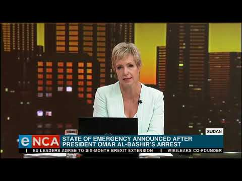 Tonight with Jane Dutton Sudan coup in spotlight 11 April 2019