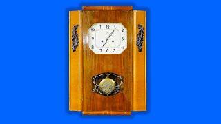 ОЧЗ Янтарь 1964г в Часы настенные,длинный маятник