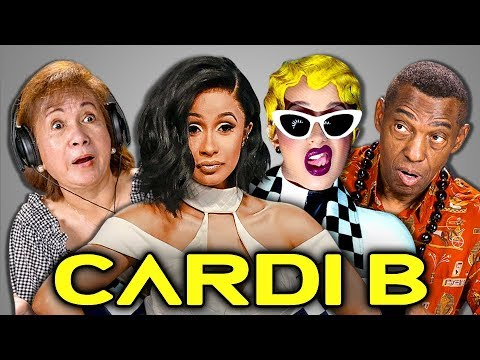 ELDERS REACT TO CARDI B - Invasion Of Privacy (Album Reaction) - FBE