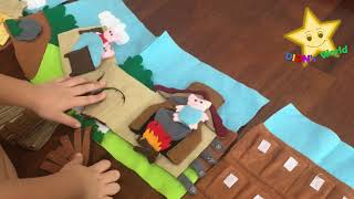 THREE LITTLE PIGS - Finger Puppets Storytelling And Play Counting