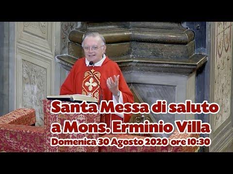 Dalla Basilica San Magno la messa con il saluto a mons. Erminio Villa