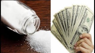 WANT TO BE RICH? HERE ARE THREE RITUALS TO ATTRACT MONEY WITH SALT