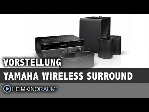 Yamaha Wireless Surround (MusicCast) - Surround ohne Kabel!