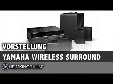 Yamaha Wireless Surround (MusicCast) - Surround ohne Kabel!