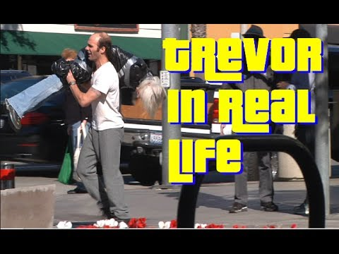 Watch GTA V's Trevor Try To Dispose Of A Dead Body In Real Life