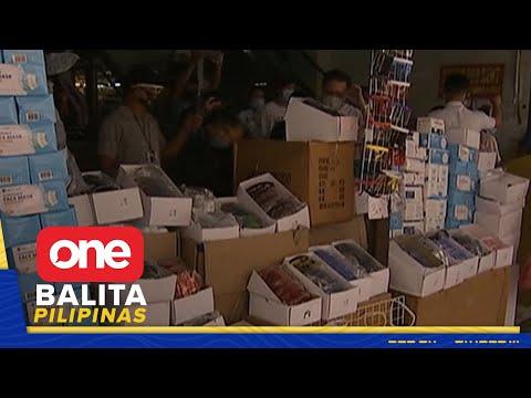 [News5]  Otoridad, nag-inspeksyon sa mga seller ng face shield sa Maynila