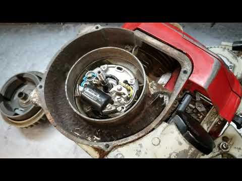 Stihl 090 clutch removal - смотреть онлайн на Hah Life