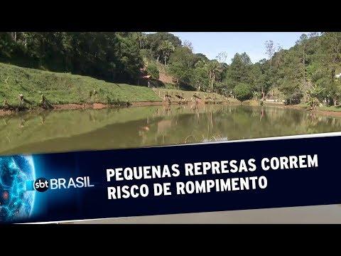 Juquitiba Pequenas represas correm risco de rompimento