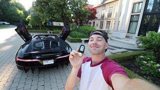 Casually DRIVING a $2.75Million Lamborghini Centenario Roadster
