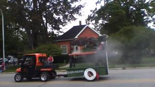 preview picture of video 'Homecoming Parade 2012..Sandusky,Michigan'