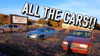 Driving the Volvo 850 to Weird Beard - All the Cars!!
