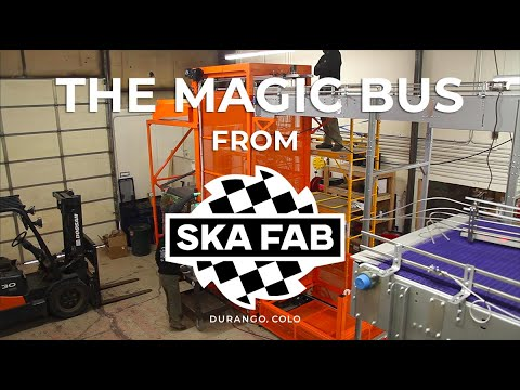 The Magic Bus: A fully automated can depalletizer