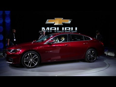 Car Tech – Chevrolet's 2016 Malibu shows off its new curves in New York