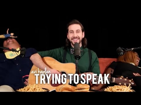 Avi Kaplan Trying to Speak