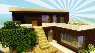 Einfache Moderne Villa Minecraft Tutorial Part German Most - Minecraft moderne hauser nachbauen