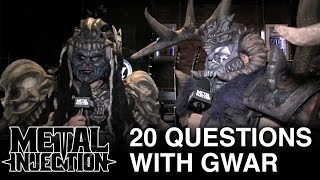 20 Questions with GWAR | Metal Injection