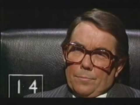 This genius comedy sketch by the Two Ronnies where Ronnie answers the question before last