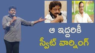 Chiranjeevi Warns Ram Gopal Varma On Tweets About Nagababu And Khaidi No 150 NH9 News