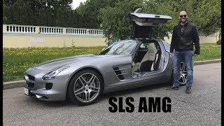 DT_LIVE. Настоящий суперкар от Mercedes — SLS AMG