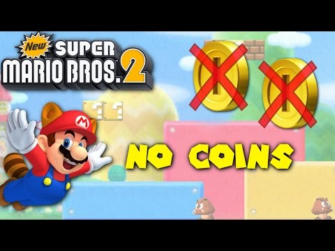 New Super Mario Bros. 2 - Can you beat the game without collecting a single coin?