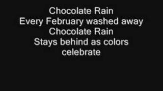 Tay Zonday - Chocolate rain LYRICS