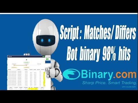 Script Matches / Differs | For Binary Bot | Free Donwload