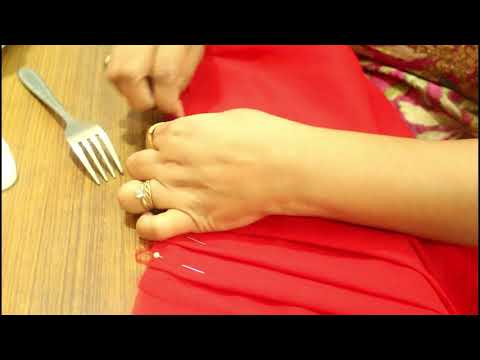 Perfect Pleats With Fork