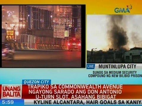 [GMA]  UB: Trapiko sa Commonwealth Avenue ngayong sarado ang Don Antonio u-turn slot, asahang bibigat