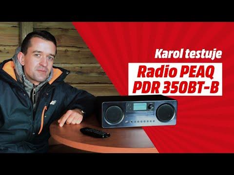 Ambasadorzy MediaMarkt #3 Karol testuje Radio PEAQ PDR 350BT-B