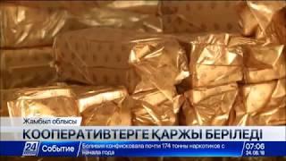 Жамбыл облысындағы кооперативтер жұмысы нәтиже бере бастады