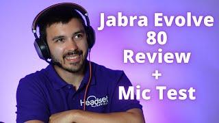 Jabra Evolve 80 UC In Depth Review + Mic Test