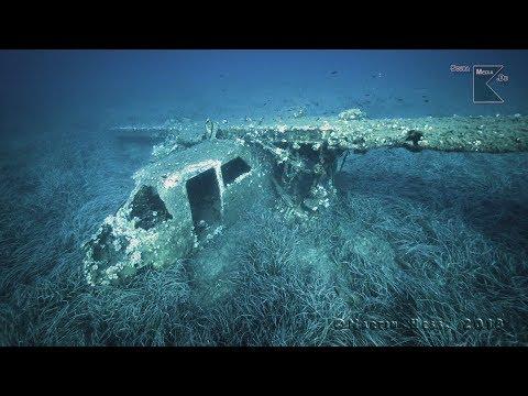 Tauchen auf Elba - Flugzeugwrack I-BADE