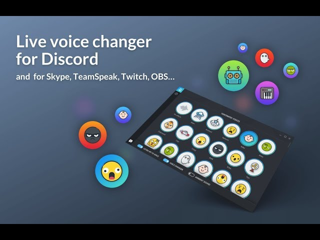 XSplit Voice Changer by Voicemod - Download for FREE