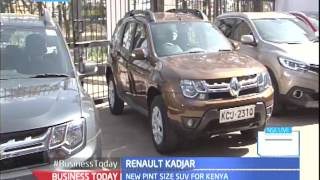 Business Today: Car manufacturer Renault Kenya unveils the new Kadjar SUV to the Kenyan market