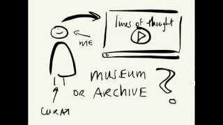 Lines of thought #18 - Archive vs museum