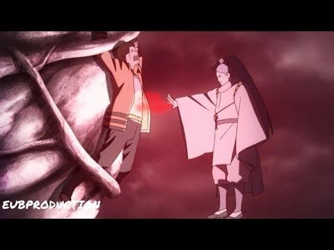 Ооцуцуки высасывают чакру девятихвостого у Наруто