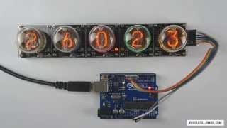 Nixie tube clock without the nixie tubes! - Page 1
