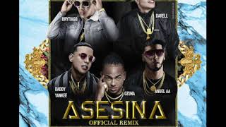 Brytiago Ft Darell, Daddy Yankee, Ozuna, Anuel Aa   Asesina (Remix Extended Version Dj Beto)