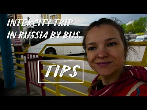 Russian bus station. How to navigate? How to buy a bus ticket?