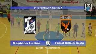 preview picture of video 'Rapidoo Latina - Futsal Città di Sestu highlights'