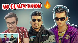 No Competition - Jass Manak & Divine - Full Official Video 2020 - No Competition Reaction Divine