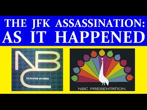 JFK'S ASSASSINATION (NBC-TV COVERAGE) (PART 1) [WITH RARE FOOTAGE ADDED]