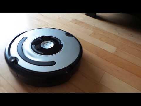 Robot que limpia el piso y alfombras