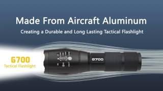 La Meilleure Lampe De Poche   LumiTact Tactical G700 LED