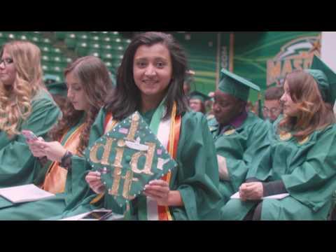 George Mason University Winter Graduation 2016