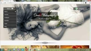 I will design website for Photographers