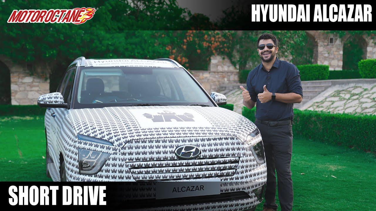 Motoroctane Youtube Video - Hyundai Alcazar Short Drive - CAN'T MISS!